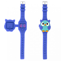 MONTRE LED ANIWATCH HIBOU...